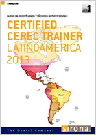 Dr. Julian Conejo now a Certified Trainer with the CEREC Network