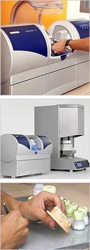 Cutting-Edge Technology - On-Site Dental Lab