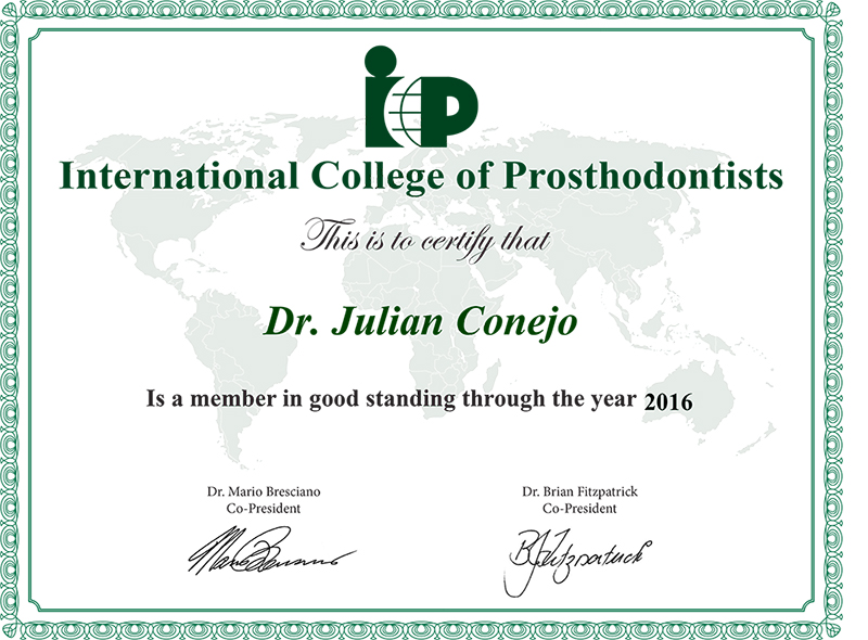 International College of Prosthodontists
